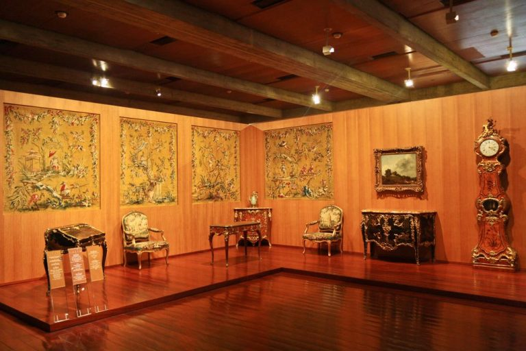 Works of art in the museum of Galust Gyulbenkyan