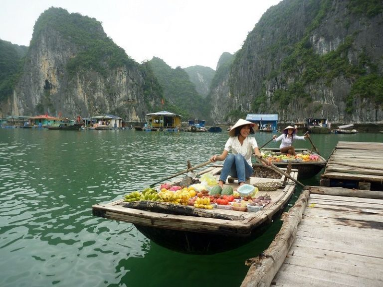 Boat Traders in the Gulf of Vietnam