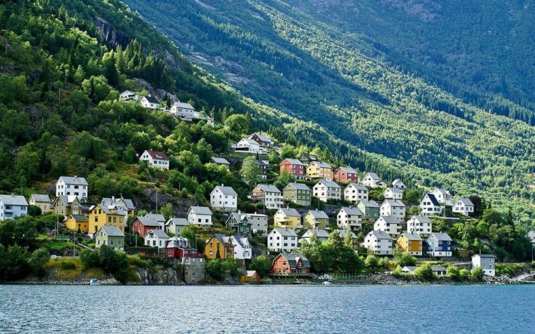 City Odda, Norway