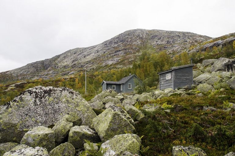 Lodges and power lines
