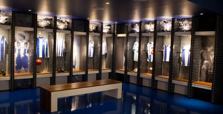 At the FC Porto Museum