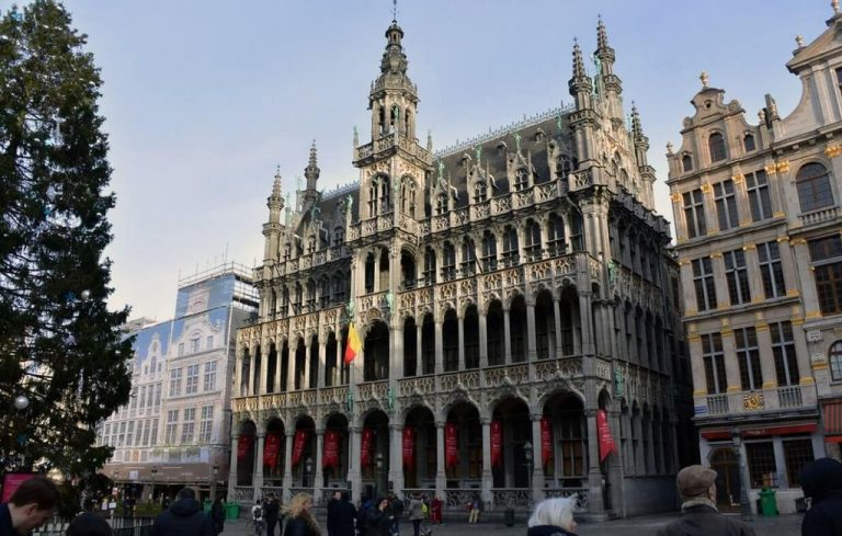 King's House - Grand Place Decoration