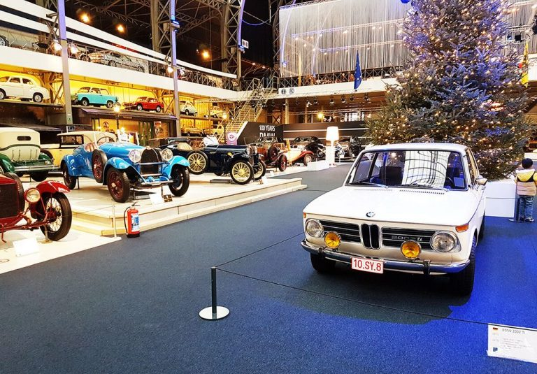 At the Autoworld Museum in Brussels