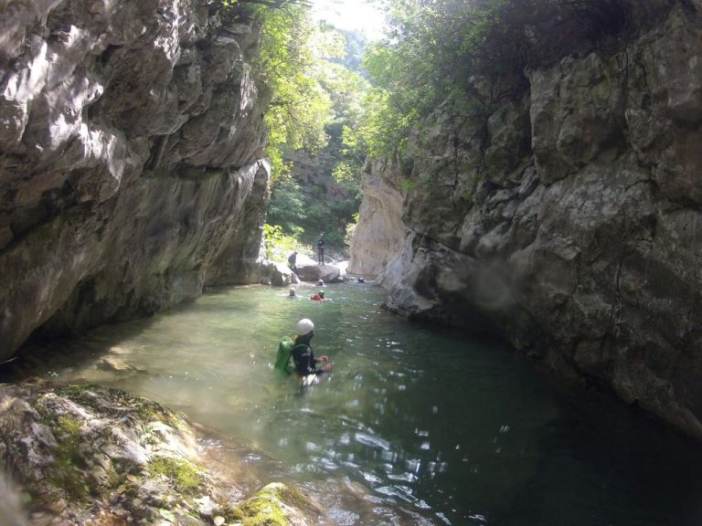 Thessaloniki Canyoning