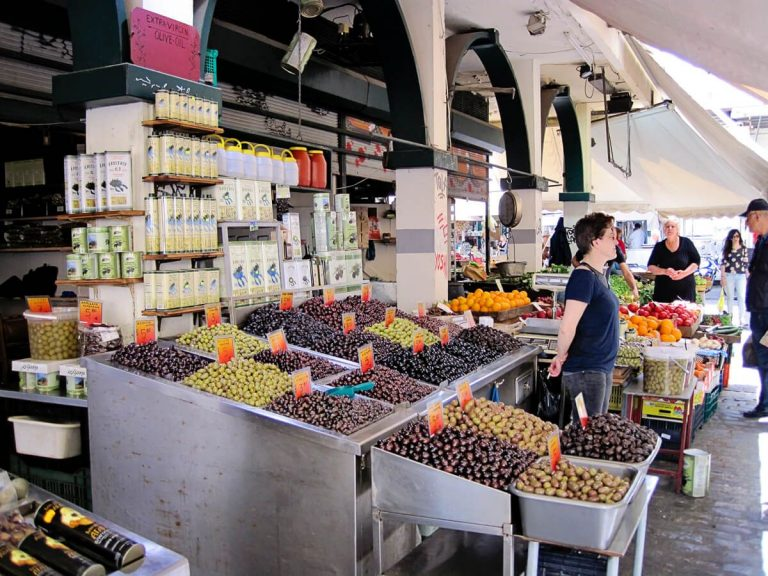 Huge selection of olives