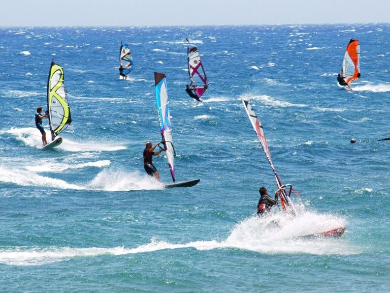 Windsurfing in Ialyssos