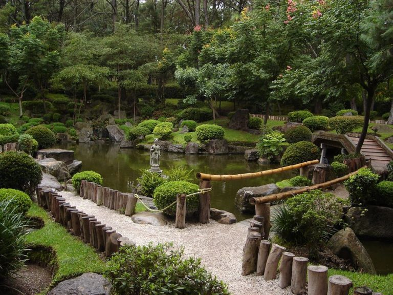 Japanese Garden donated to the Belgian city by the Japanese city of Itami