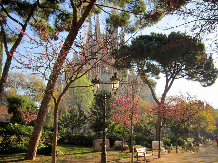 Spring in Barcelona: March
